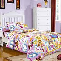 """Комплект постельного белья """"Модники"""", в кроватку"""