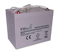 Гелевая аккумуляторная батарея KM Battery 80Ah 12V