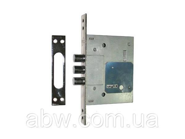 Замок для метал.дверей сув.USK 257 L без накл., без отв.