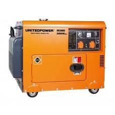 Генератор дизельный UNITED POWER DG5500SE (5 кВт ), фото 2