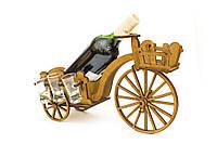 """Подарочный деревянный сувенирный набор """"Мини-бар Ровер и стопки"""" ручной работы"""