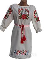 "Вишите плаття для дівчинки ""Нолвін"" (Вышитое платье для девочки ""Нолвин"") DN-0045"