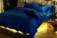 Постельное белье Сатин CLASSIC BLUE, семейный