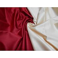 Постельное белье Сатин Микс WINE RED+MILK, семейный