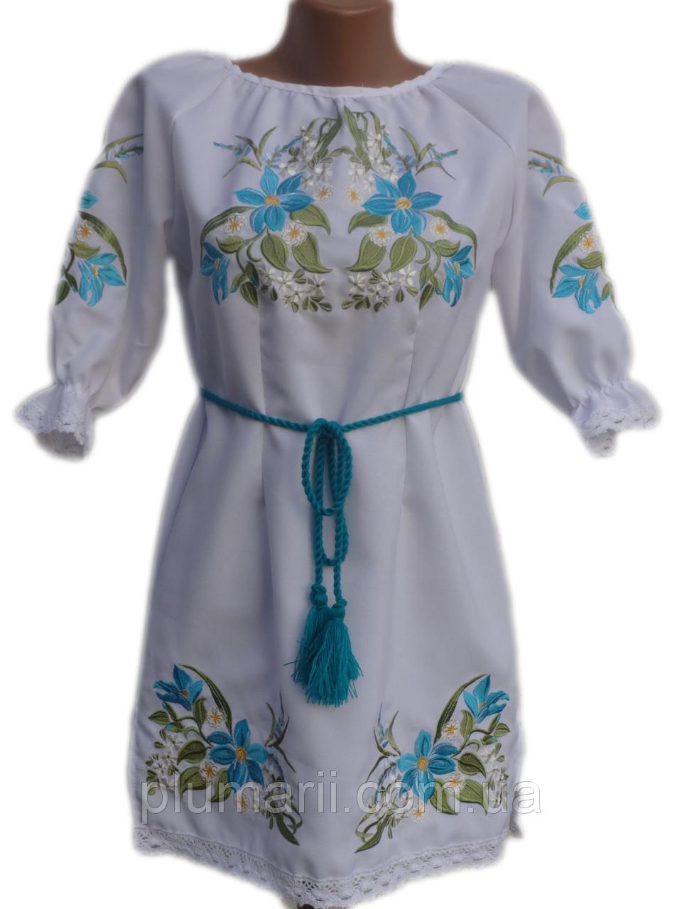 """Вишите плаття для дівчинки """"Найзі"""" (Вышитое платье для девочки """"Найзи"""") DN-0046"""