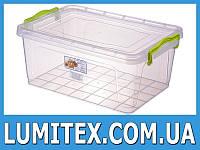 Контейнер пищевой LUX №7 9,5 литров пластиковый для хранения еды, продуктов
