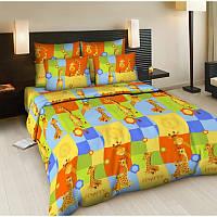 """Комплект постельного белья """"Жирафики"""", в кроватку"""