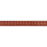 Лента тканная 1,5 см. украинский орнамент