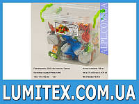 Контейнер пищевой ВЫСОКИЙ PREMIUM №4 2,5 литра пластиковый для хранения еды, продуктов