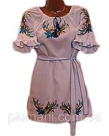 """Вишите плаття для дівчинки """"Ерлін"""" (Вышитое платье для девочки """"Ерлин"""") DL-0001"""
