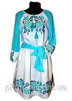 """Вишите плаття для дівчинки """"Нотіна"""" (Вышитое платье для девочки """"Нотина"""") DK-0020"""