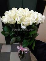 Букет из белых роз 29 шт