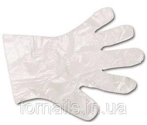 Перчатки полиэтиленовые Polix Pro Med, 500 шт