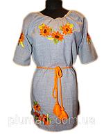 """Вишите плаття для дівчинки """"Нейт"""" (Вышитое платье для девочки """"Нейт"""") DK-0021"""