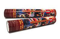Хлопушка пневматическая Ниндзяго Лего, длина 30 см