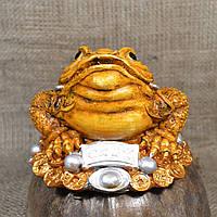 """Фигурка """"Трехлапая денежная жаба Чань Чу"""" большая"""