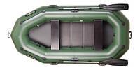 Надувная лодка Bark B-280P трехместная, гребная , фото 1