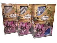 Набор полотенец для сауны,пляжа или бани Бамбук Турция