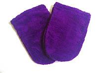 Варежки махровые для парафинотерапии на липучке