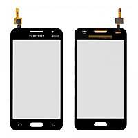 Сенсор (тачскрин) Samsung G355H Galaxy Core 2 Duos черный