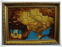 Карта Украины сложная Г-66 Гранд Презент 40*60