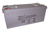 Гелевая аккумуляторная батарея KM Battery 200Ah 12V
