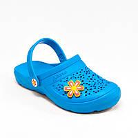 Шлепанцы женские оптом голубые Гипанис Украина DS 40