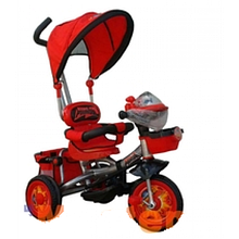 Дитячий триколісний велосипед Тачки