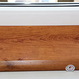 Подоконник Данке Standard золотой дуб 100 мм