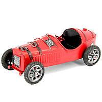 Модель гоночного ретро автомобиля красный 8324