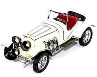 """Модель автомобиля """"Morgan"""" белый 1263B"""