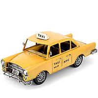 Модель автомобиля ретро такси A7367