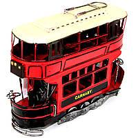 Модель двухэтажного трамвая 1781