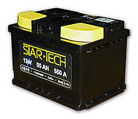 Аккумуляторная батарея 55Ah EN550А 1(L+) L2 (242x175x190) STARTECH (производство TAB,Словения)