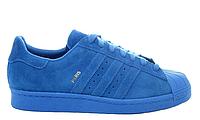 """Мужские Кроссовки Adidas Superstar [City Pack] """"Paris"""" - """"Синие"""" (Копия ААА+), фото 1"""