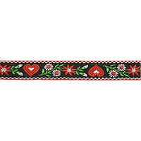 Лента тканная 2 см. украинский орнамент