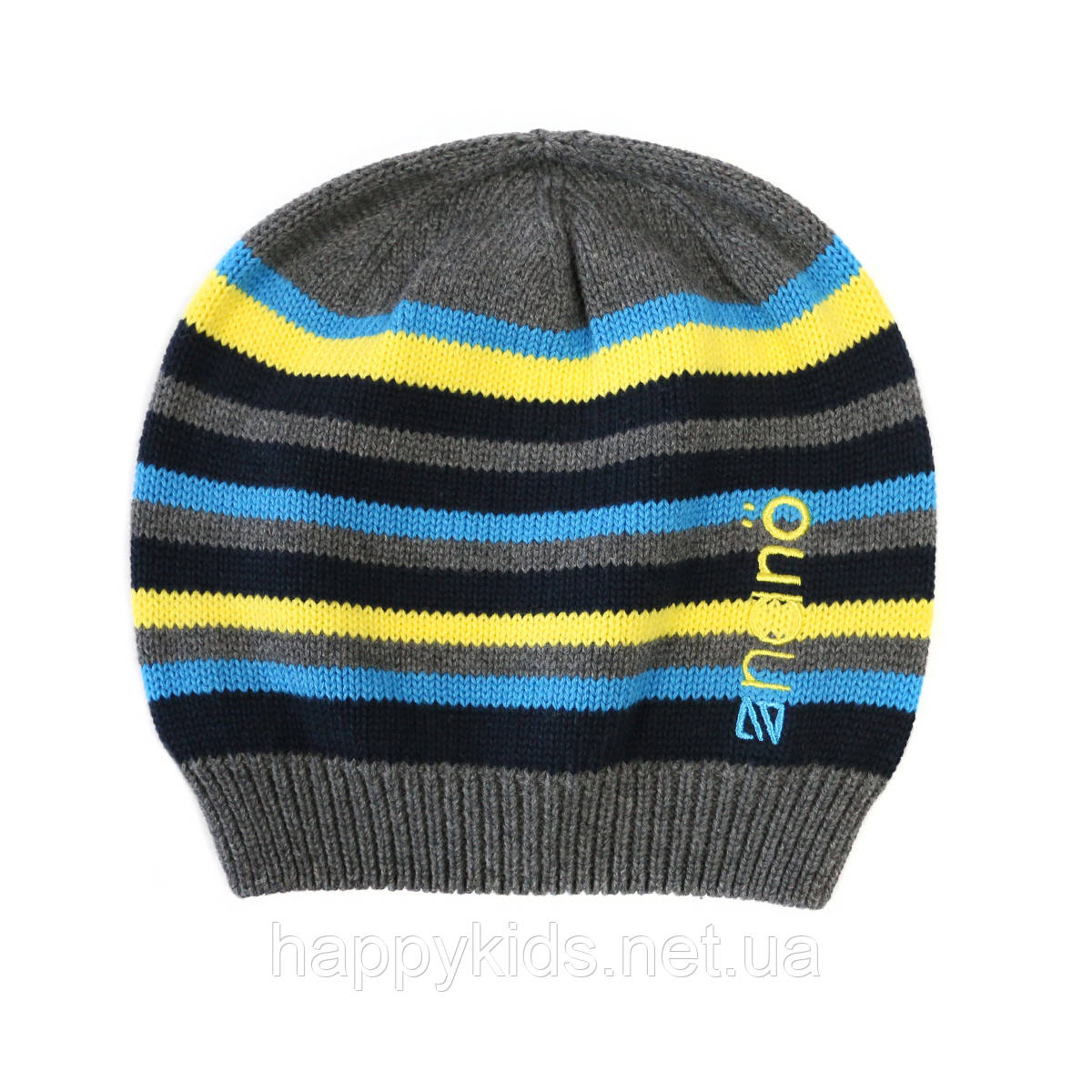 Демисезонная шапка  для мальчика  NANO 255 TUT S17.  Р-р  12/24 мес - 7/12.