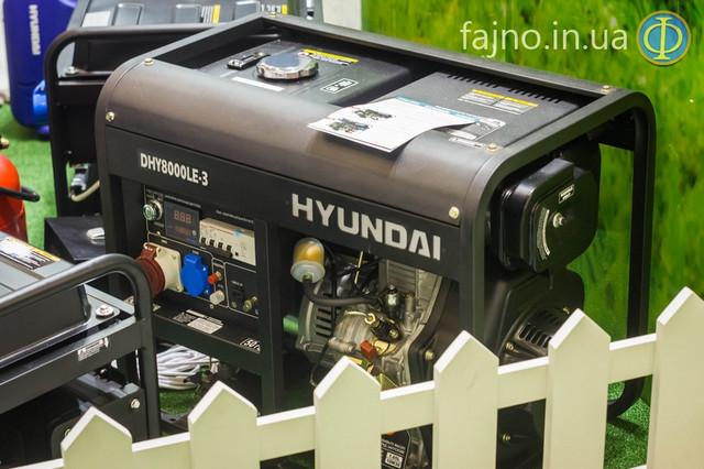 Генератор Hyundai DHY8000LE-3