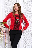 Блуза Розитта 6 цветов, фото 1