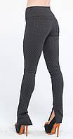 Леггинсы-штаны под каблук паутинка черная (42-56)