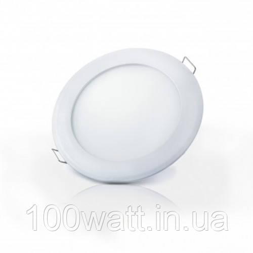 Cветильник светодиодный DOWNLIGHT встроенный LED-R-150-9 9Вт 6400К