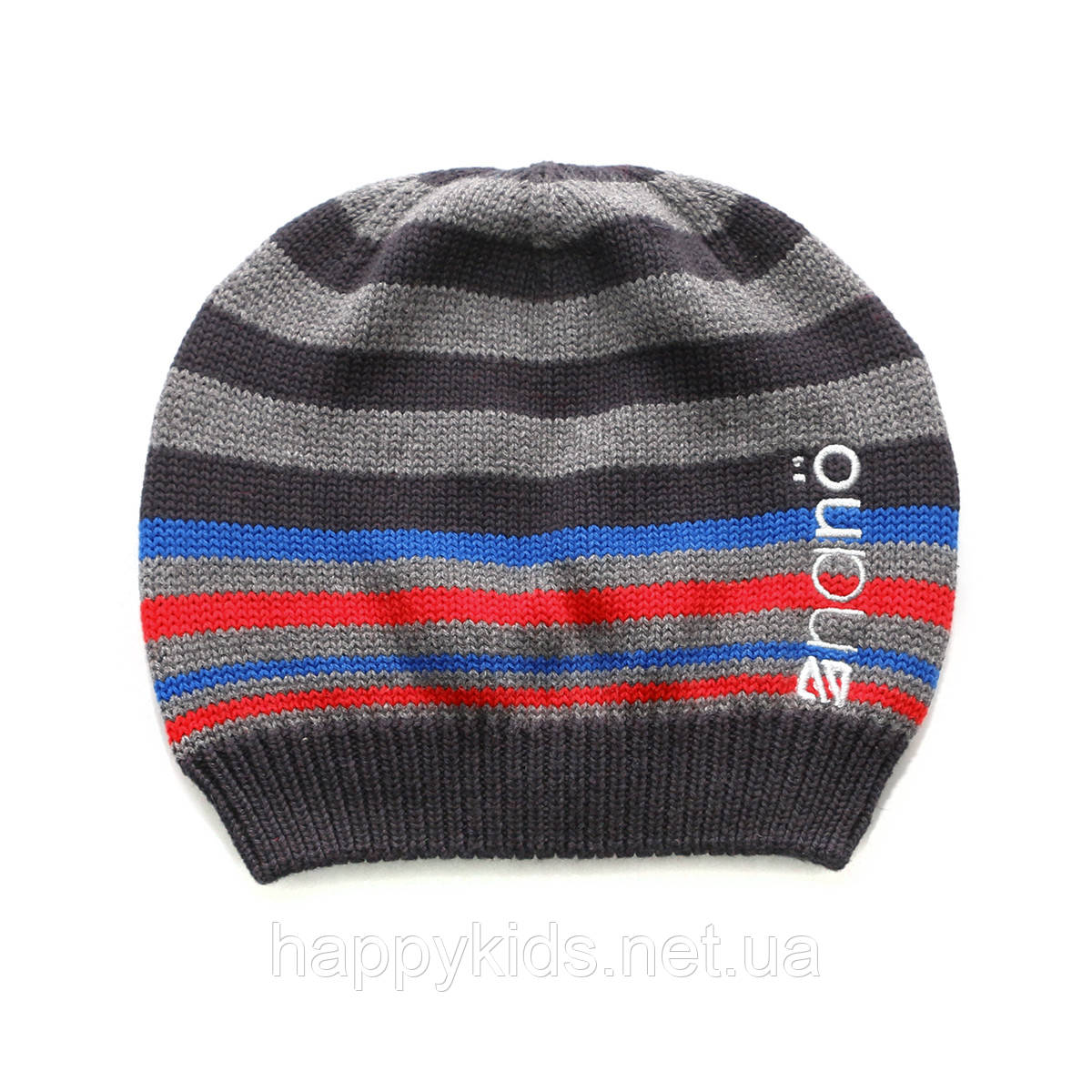 Демисезонная шапка  для мальчика  NANO 271 TUT S17 Chili.  Р-р  12/24 мес - 7/12.