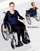Стабилизатор пациента в инвалидной коляске Athenax SECUBACK II