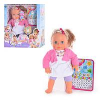 Інтерактивна лялька Міла з планшетом / Интерактивная кукла Мила с планшетом.