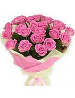 """Букет из розовых роз 21 шт. """" Наслаждение """""""