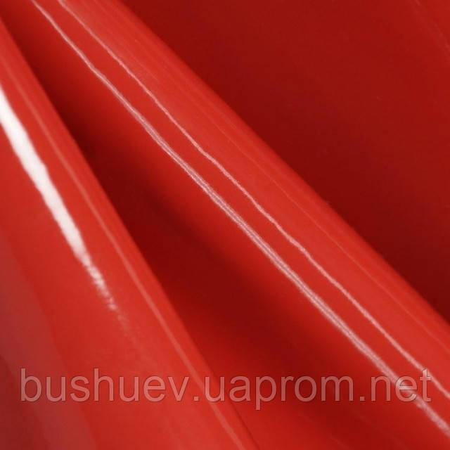 Кожа искусственная лаке Красный