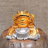 """Фигурка """"Трехлапая денежная жаба Чань Чу"""" деньги большая"""