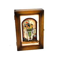 """Ключница настенная для дома """"Цветы"""" 05B-349 C"""