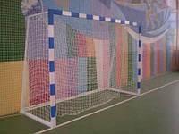 Ворота мини футбольные 3000х2000 (не разборные) с полосами