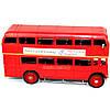 Модель красного двухэтажного лондонского автобуса 1864, фото 2